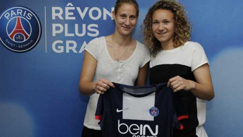 Ann-Katrin Berger and Josephine Henning sign for PSG