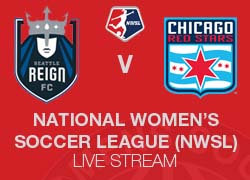 Seattle Reign FC v Chicago Red Stars NWSL live broadcast