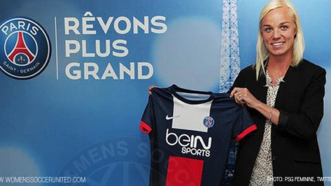 Caroline Seger signs for PSG
