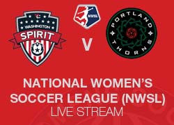 Washington Spirit v Portland Thorns NWSL Live