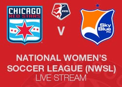 Chicago Red Stars v Sky Blue FC NWSL 2014 live broadcast