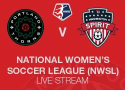 Portland Thorns v Washington Spirit NWSL live broadcast