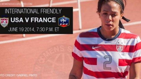 LIVE: USA v France | International Friendly (19 June 2014)