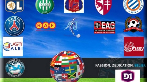 French Féminine Division One League Fixtures 2014/15 season