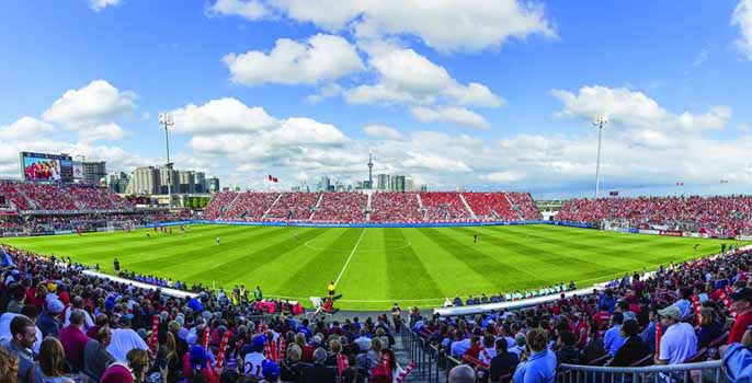 National Soccer Stadium, Toronto