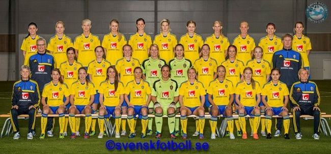 Sweden 2013 team photo