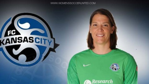 FC Kansas City goalkeeper Nicole Barnhart was voted the Army National Guard Player of the Month
