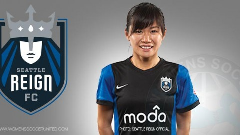 "Seattle Reign FC forward Nahomi ""Naho"" Kawasumi has been voted the NWSL Player of the Week"