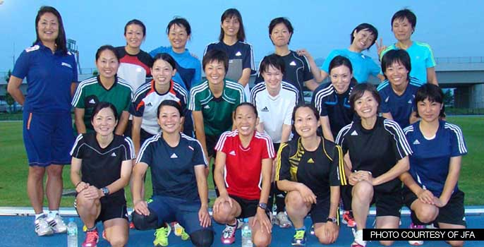 Women's Referee class Japan