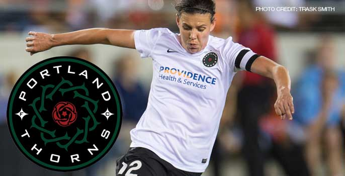 Christine Sinclair Portland Thorns