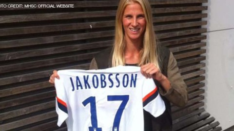 Sofia Jakobsson signs for French club Montpellier HSC