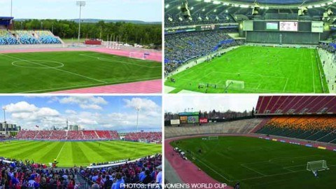 FIFA U-20 Women's World Cup 2014 host stadiums