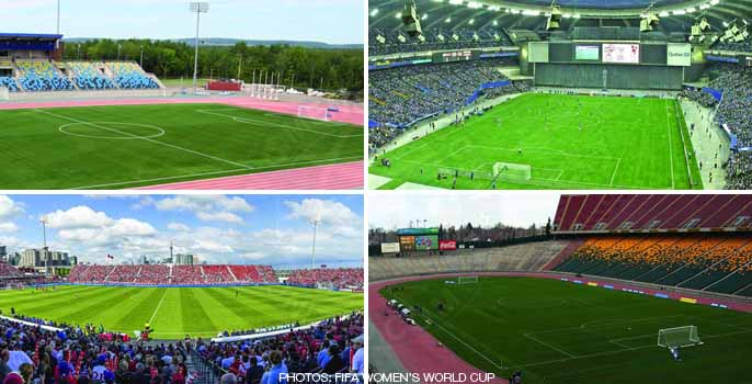FIFA U-20 Women's World Cup 2014 stadiums
