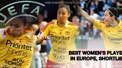 Verónica Boquete, Christen Press & Marta included in shortlist for Best Women's Player in Europe