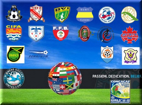 CONCACAF Girls Under 15 Championship starts on 6th August 2014