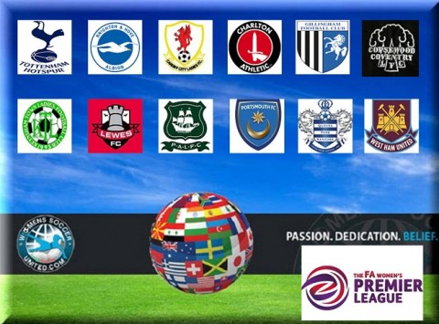 FA Womens Premier League Opening Day Match Results August 24th