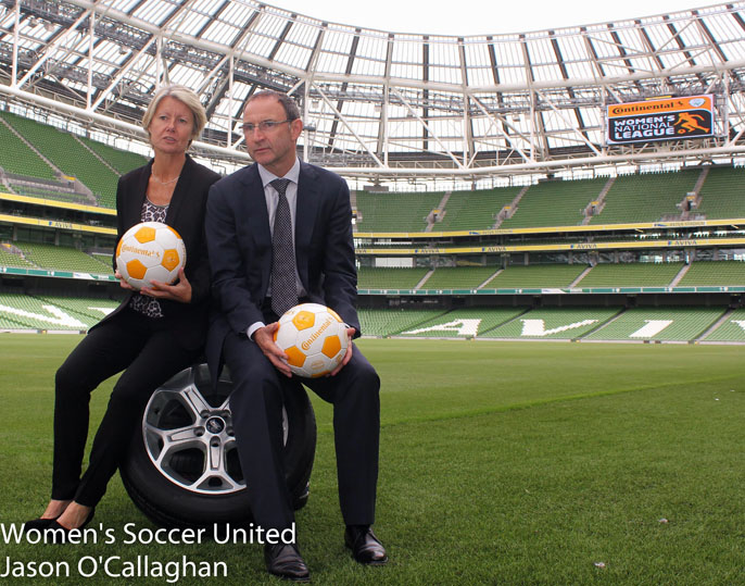 Sue Ronan, Martin O'Neill - Launch