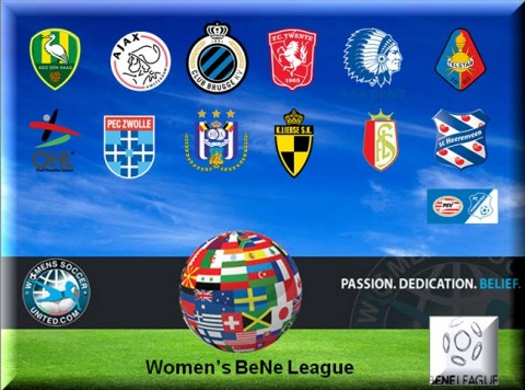 Womens BeNe League Opening Day Match Results 3rd September 2014