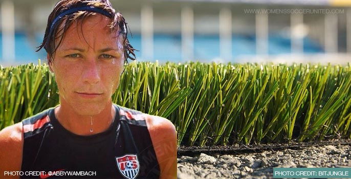Abby Wambach appeals against artificial turf at 2015 FIFA Women's World Cup