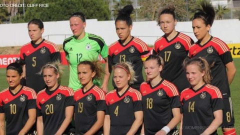 Germany top the FIFA Womens World Rankings 19th December 2014