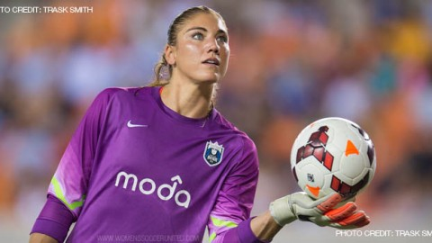 Hope Solo on Verge of Breaking USWNT All-Time Shutout Record
