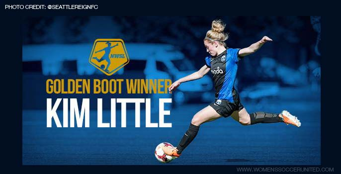 Kim Little wins 2014 NWSL Golden boot winner