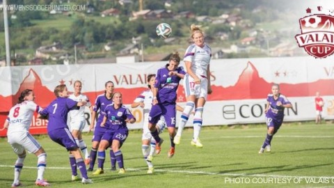 Olympique Lyonnais win opening Valais Women's Cup match against RSC Anderlecht 7-1