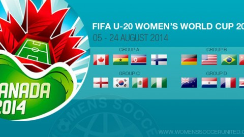Day Two – Group Stage: FIFA U-20 Women's World Cup 2014