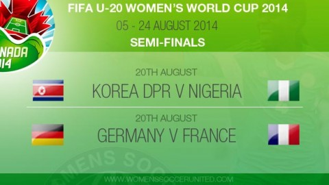Semi-finals: FIFA U-20 Women's World Cup 2014