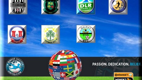 Republic of Ireland Womens National League Results 31st August 2014