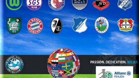 Turbine Potsdam top German Frauen Bundesliga 24th September 2014