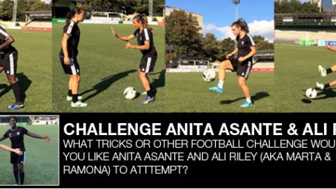 POLL: What challenge would you like Anita Asante and Ali Riley to attempt?