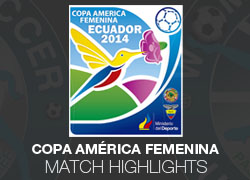 2014 Copa América Femenina match highlights