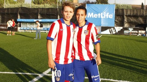 Calderón and Sampedro aiming high with Atlético and Spain