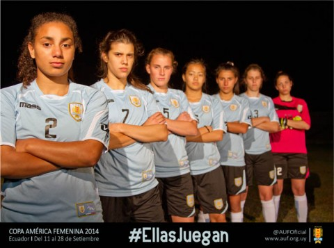 Uruguay squad announced for Copa América Femenina 2014