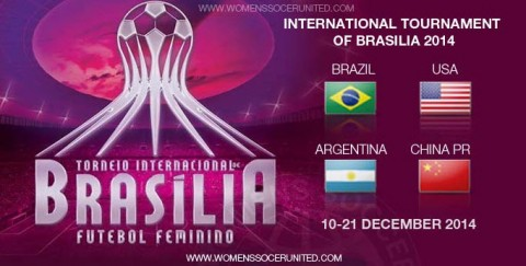 USWNT Opens Four-Game Brasilia Tournament on Wednesday against China PR