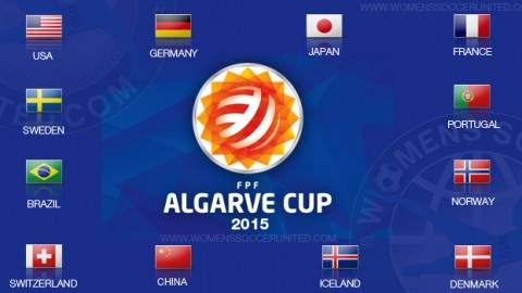 Algarve Cup 2015 Groups announced
