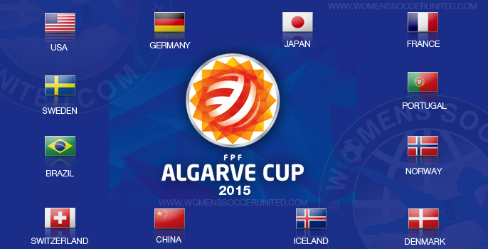 Algarve Cup 2015 competing teams