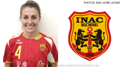 Chelsea Stewart signs for Japanese club INAC Kobe Leonessa