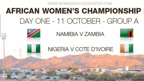 Day One – Group Stage: African Women's Championship 2014