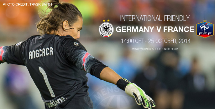 Germany v France International women's football friendly