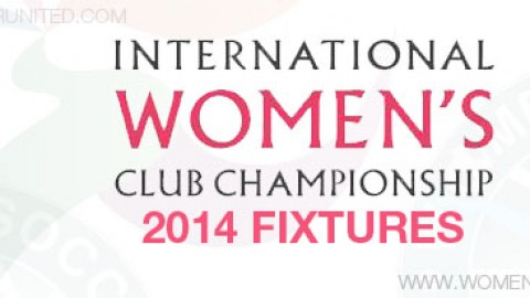 International Women's Club Championship 2014 fixtures