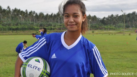 Cook Islands' 14 year old football prodigy Moeroa Harmon is ready for the 2014 OFC Women's Nations Cup