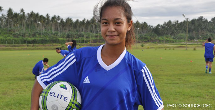 Moeroa Harmon, Cook Islands Women's National Football team