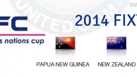 2014 OFC Women's Nations Cup Fixtures