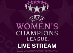 UEFA Women's Champions League LIVE stream