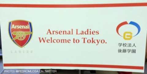 Arsenal Ladies in Japan