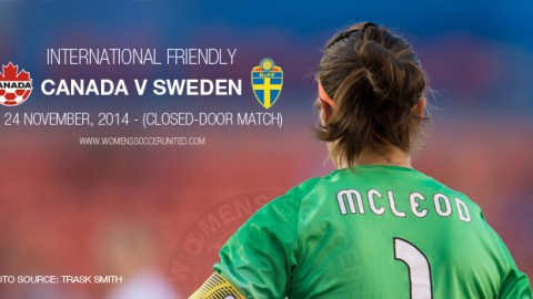 Full-time: Canada 1-0 Sweden – International Friendly (24 November 2014)