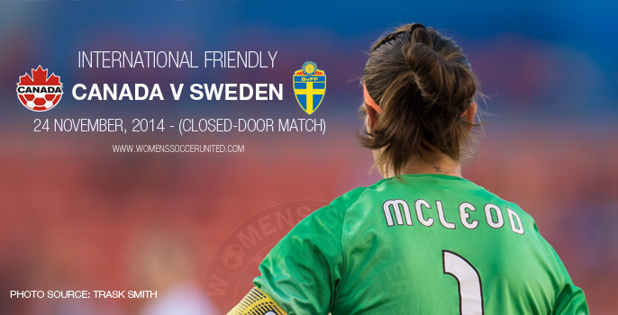Canada v Sweden – International Friendly (24 November 2014)