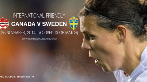 Full-time: Canada 1-1 Sweden – International Friendly (26 November 2014)